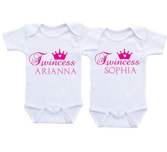 twincess personalized twin baby