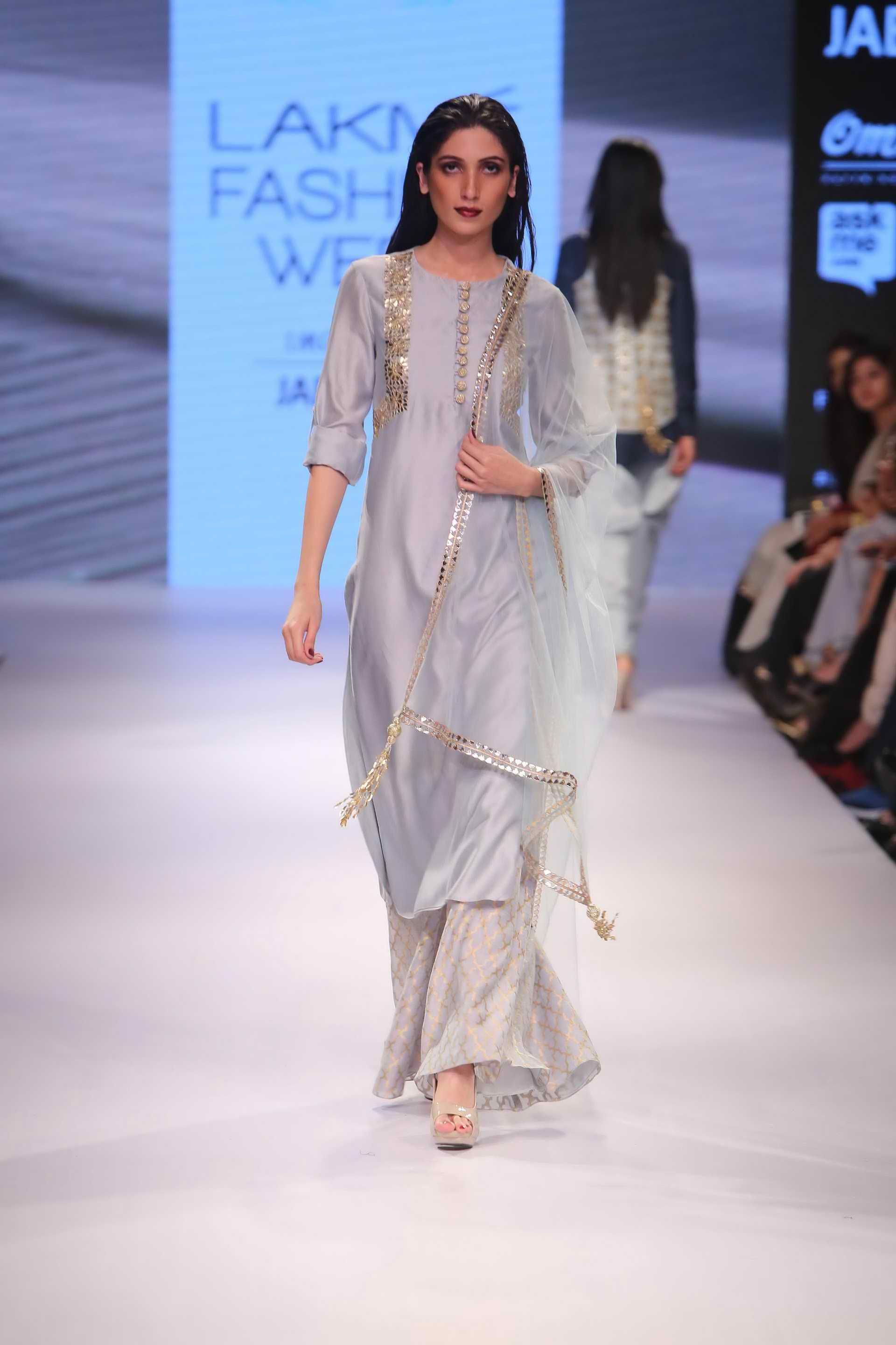 Lakme Fashion Week Payal Singhal 2015 The Is Beautiful Up Close With Images Indian Outfits Indian Attire Lakme Fashion Week