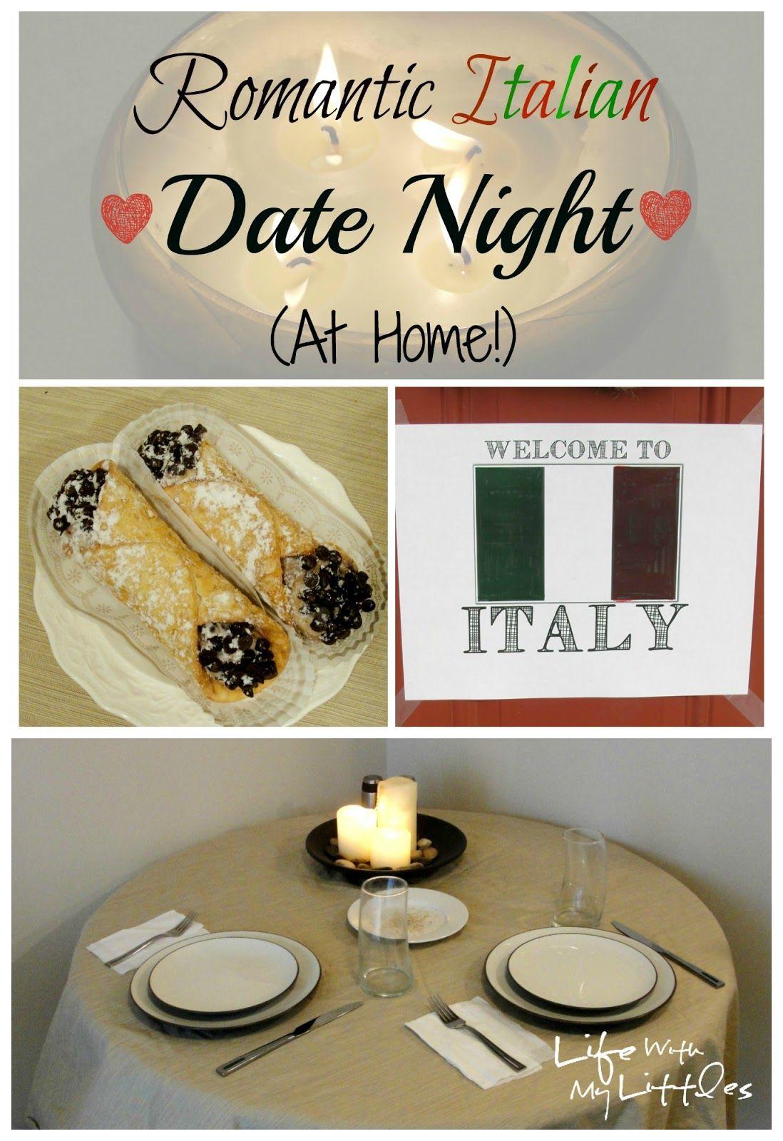 Romantic Italian Date Night (At Home!): Easy, fun, and ... Surprise Romantic Night At Home