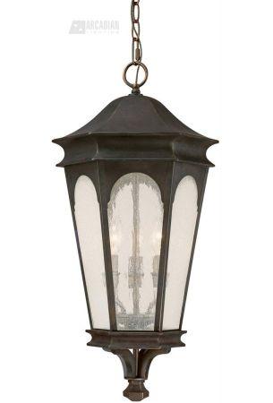 Capital Lighting 9386OB Inman Park Transitional Outdoor Hanging Lantern CP-9386OB