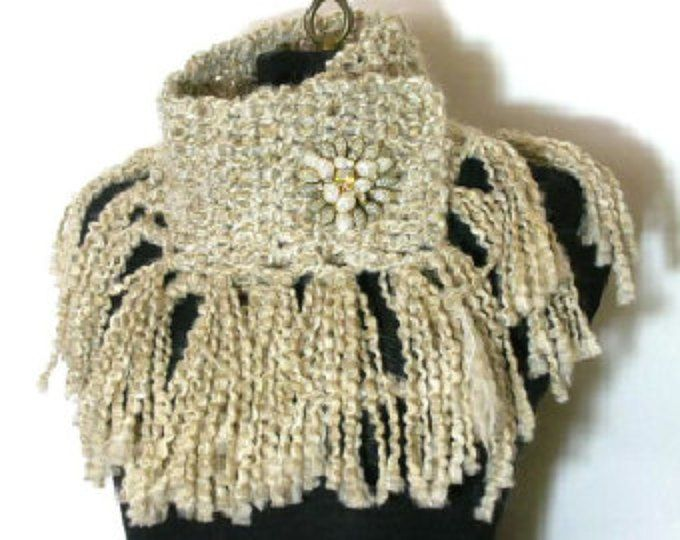 The Fringe Scarflette Crochet Pattern PDF - permission to sell what ...