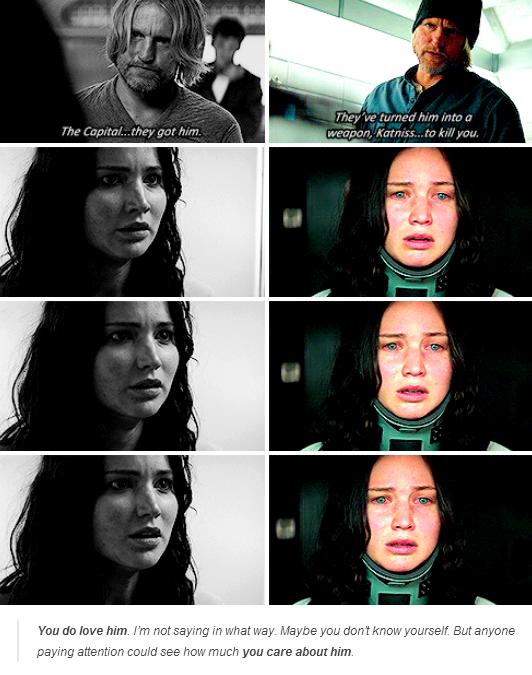 Katniss & Haymitch #CatchingFire #Mockingjay
