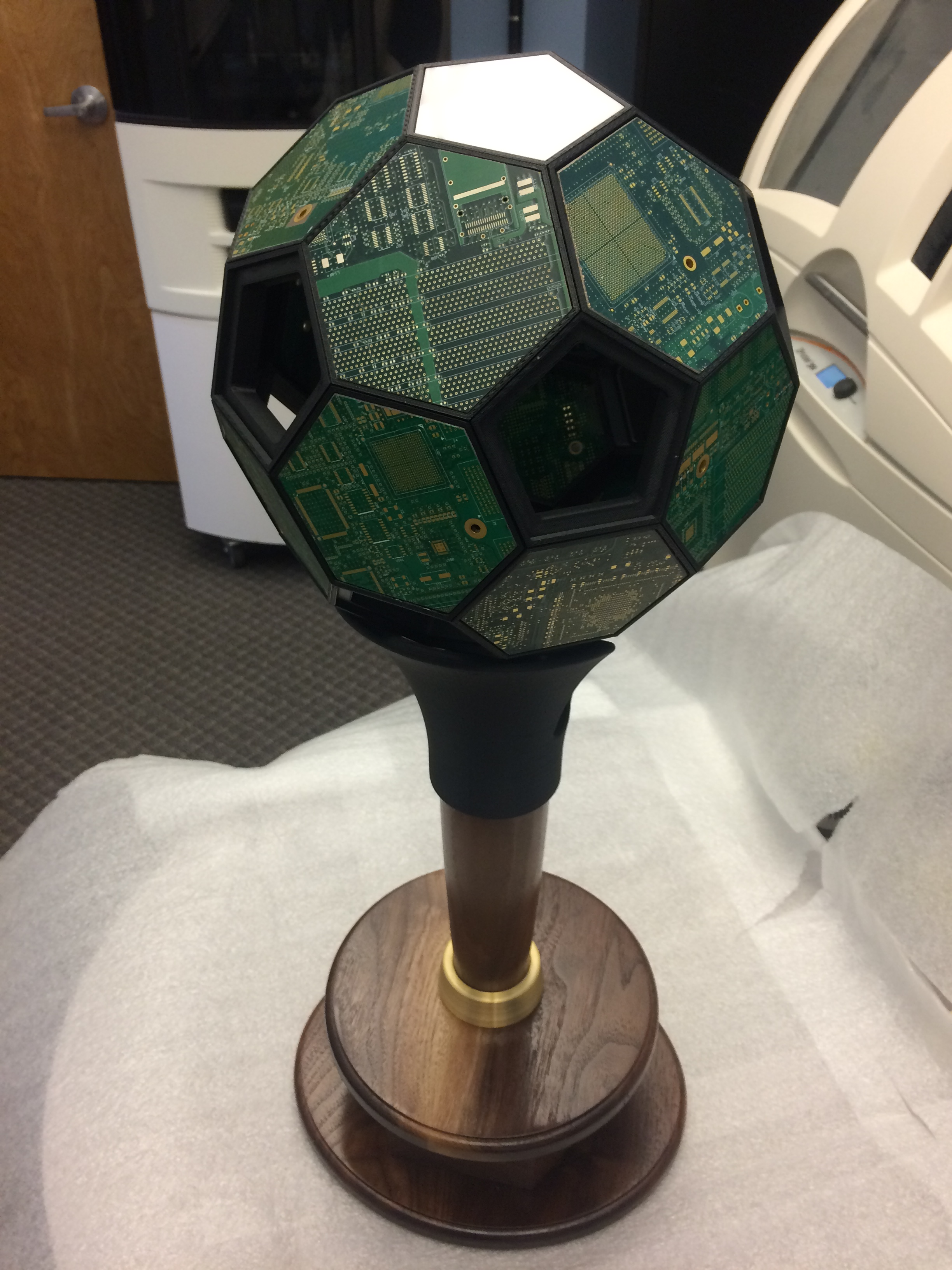 3d Printed Soccer Ball Made From Individual Hexagon And