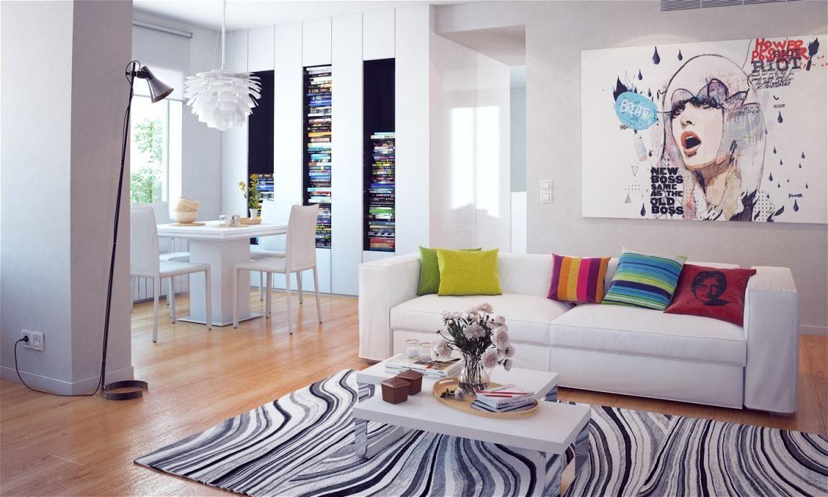 20 Modern Pop Art Interior Design Ideas | Drawhome.com