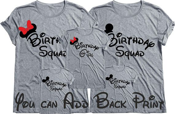 0053c71c The Birthday Squad tees,Birthday shirts,Birthday Squad Shirts,Birthday  party shirts Birthday group s