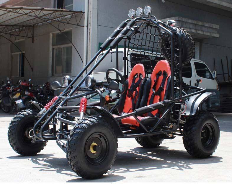 Kymoto 200 elite rail style off road trail buggy dune for Motor go kart for sale