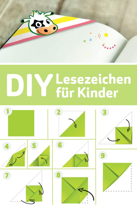 DIY: Lesezeichen basteln