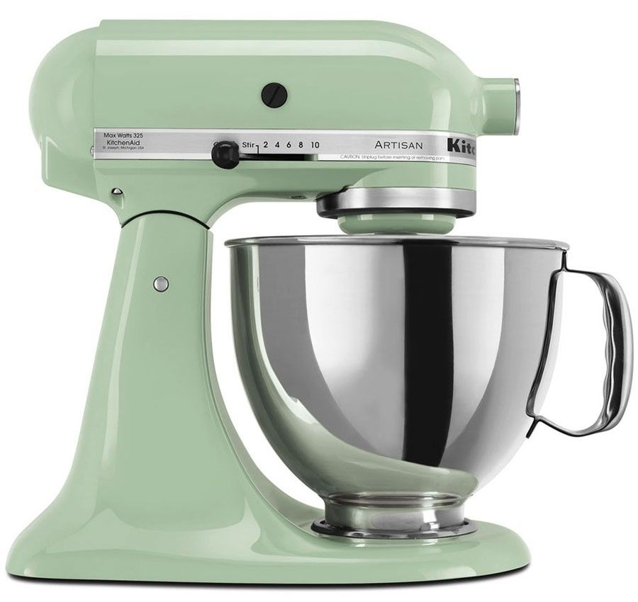 love these mixer colors! i want the crystal blue, the majestic