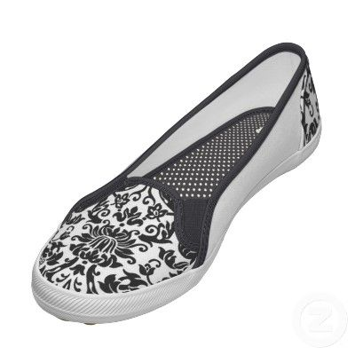 cute damask shoes
