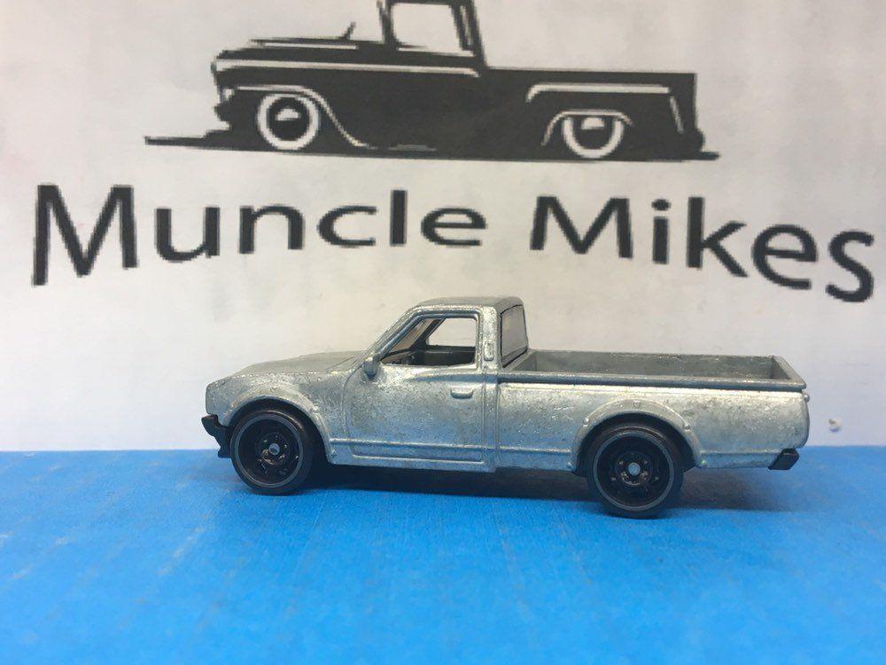 Hot Wheels Datsun 620 Mini Truck BARE METAL Muncle Mikes