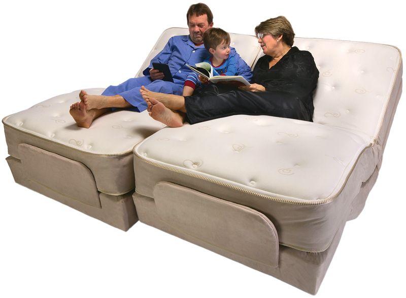 Best Split King Size Premier Adjustable Bed By Flex A Bed 400 x 300