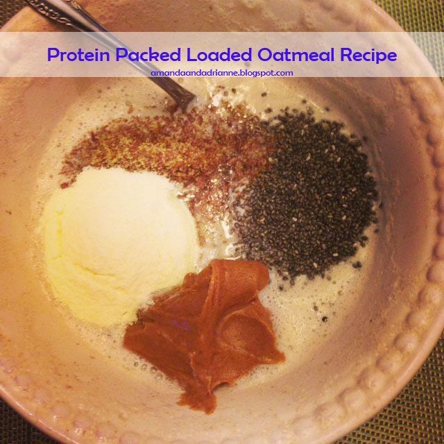 A Love Affair with Eyeliner Blog - Nutrition: How to Pump up Your Oatmeal
