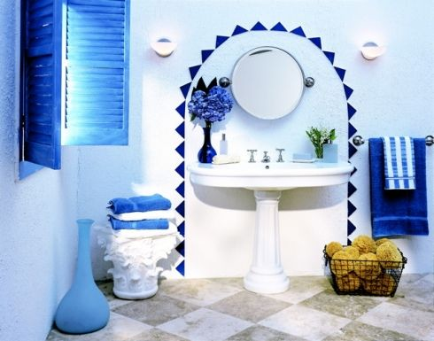 Greek Design Bathroom