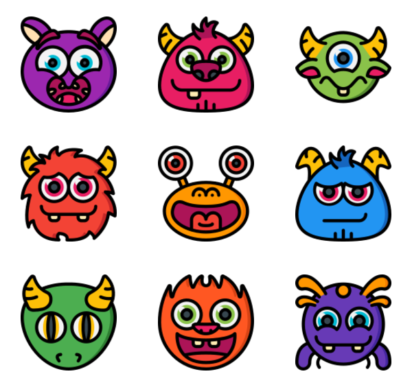 100 free vector icons of Monsters designed by Smashicons