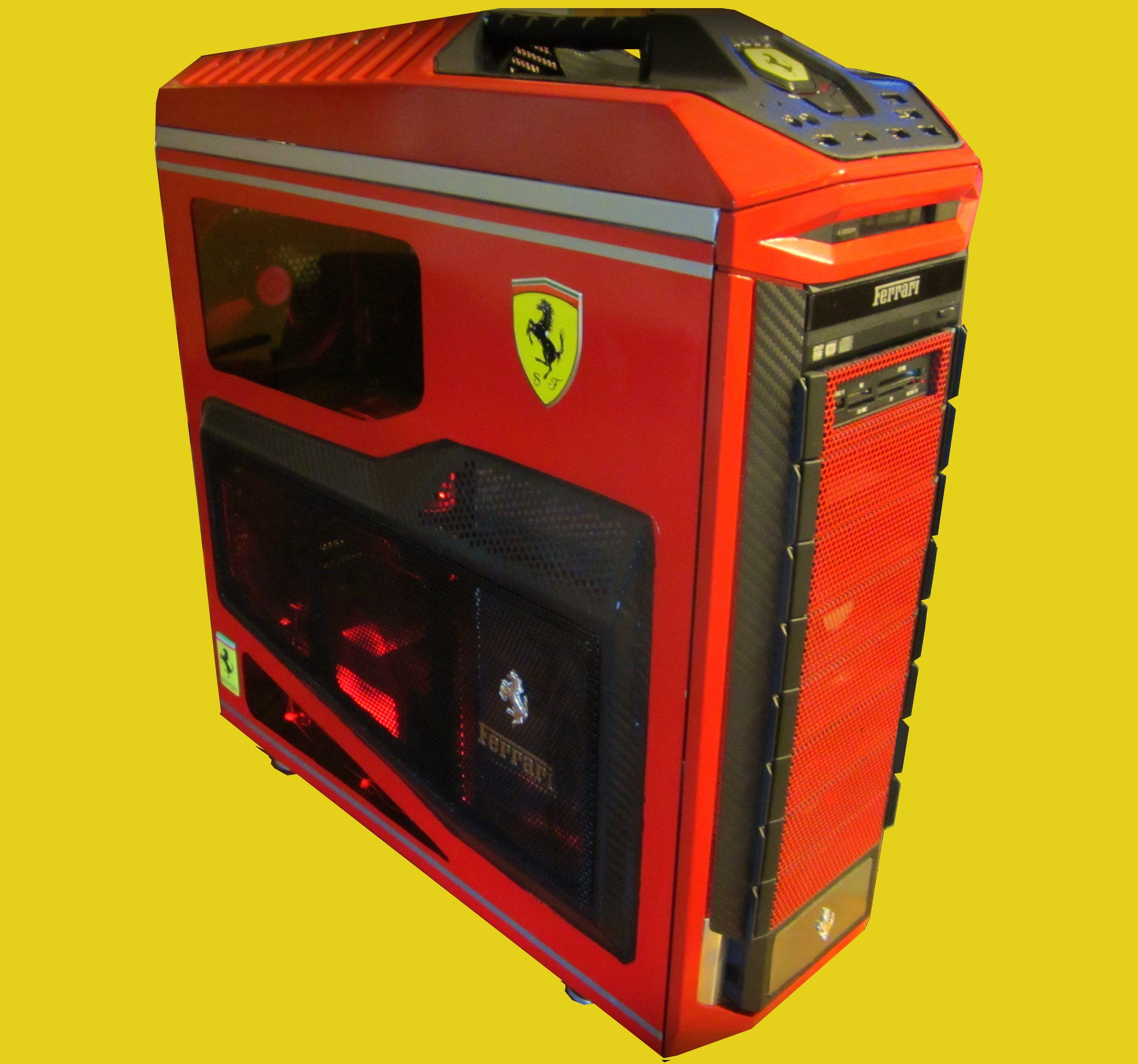 Enigma Ferrari 599 Tribute Build By Derek Smith Ferrari 599 Hot Rodder Gaming Pc Build