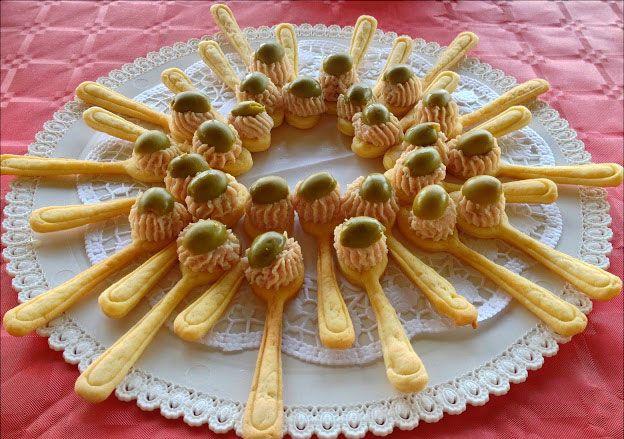 Cuillères apéritives goût jambon avec Thermomix - Recette Thermomix