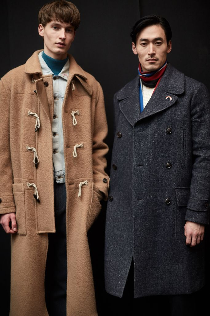 Backstage at Todd Snyder Men's Fall 2017