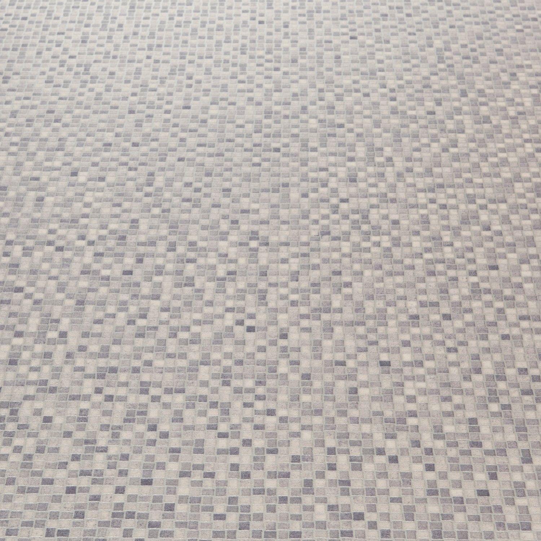 Mardi Gras 591 Nemo Grey Mosaic Vinyl Flooring | Vinyl ...