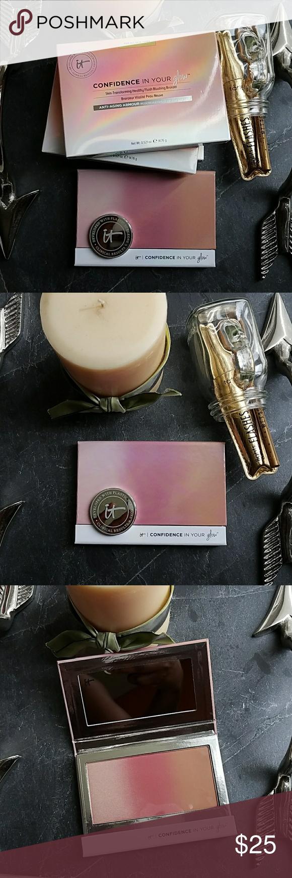 IT Cosmetics Transforming Healthy Blush Bronzer This blush