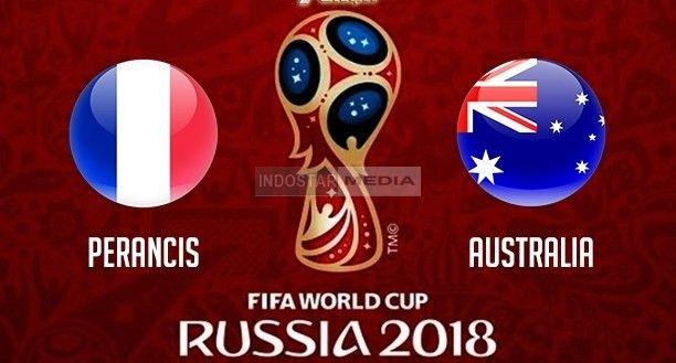 Live Streaming Perancis Vs Australia Piala Dunia World Cup