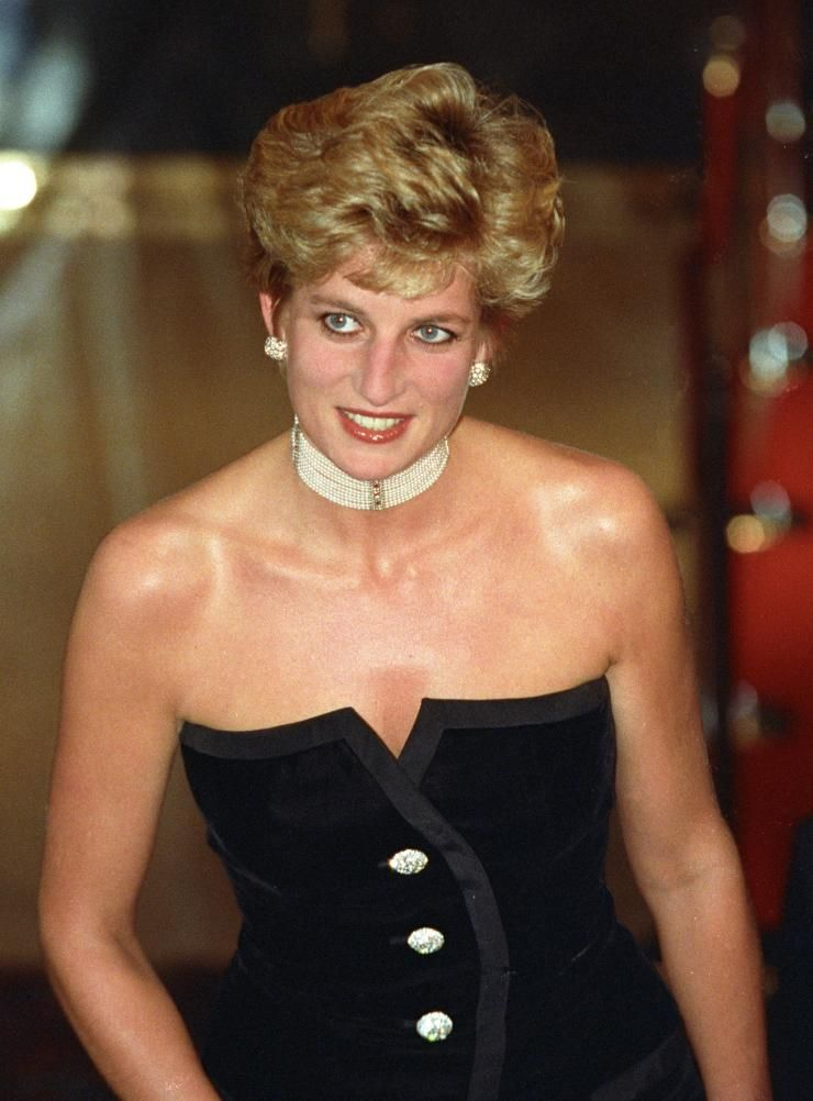 Princess Wales Arrives Premiere Ridley Scotts 1492 Conquest Paradise