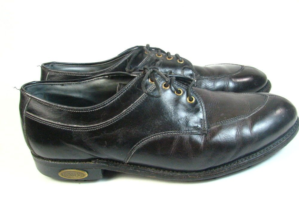 b651ac7ac Vintage FootJoy Classic Handcrafted Soft Spike Golf Shoes Burg Leather Mens  9 M  FootJoy