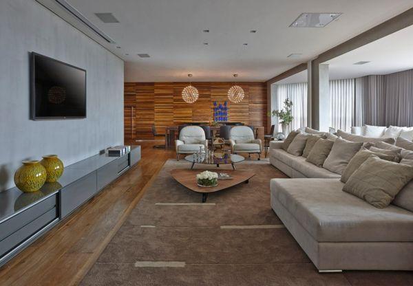 Elegantes, warmes Interieur Die Wohnung von David Guerra - http - wohnideen design