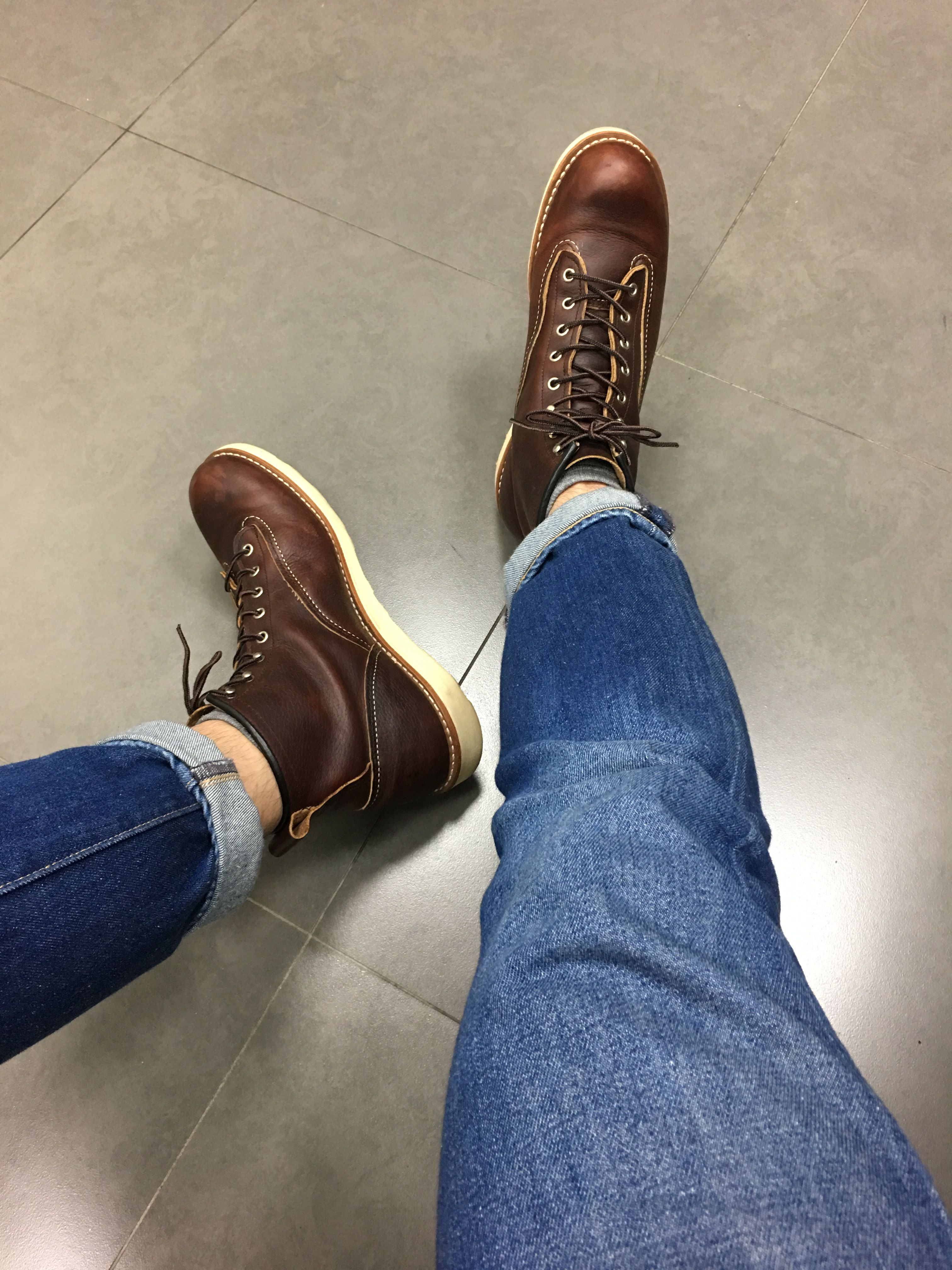 2410eb4f7c04 Red Wing Lineman 2906