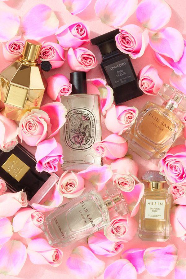 Resultado de imagen para pinterest perfume flores