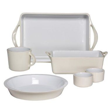 Giada De Laurentiis For Target 6 Piece Ceramic Bakeware Set