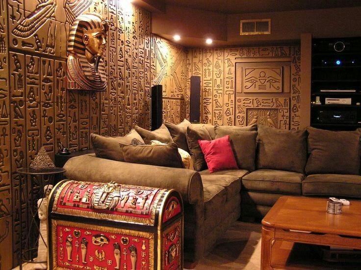 Egyptian Livingroom Decoracion Egipcia Decoracion De Unas