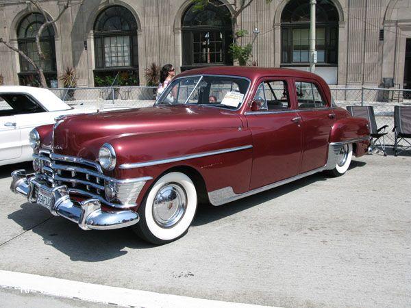 1950 Chrysler New Yorker 4 Door Sedan Mopar Cars Classic Cars