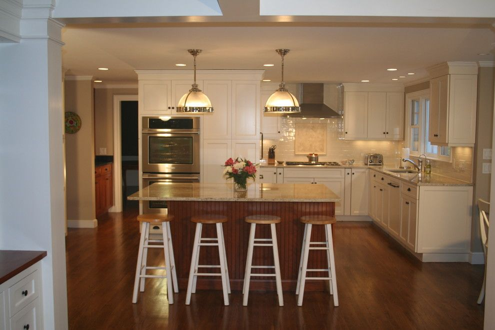 Impressiveultracrafttrendbostontraditionalkitchenremodeling Extraordinary Cherry Kitchen Design Decorating Inspiration