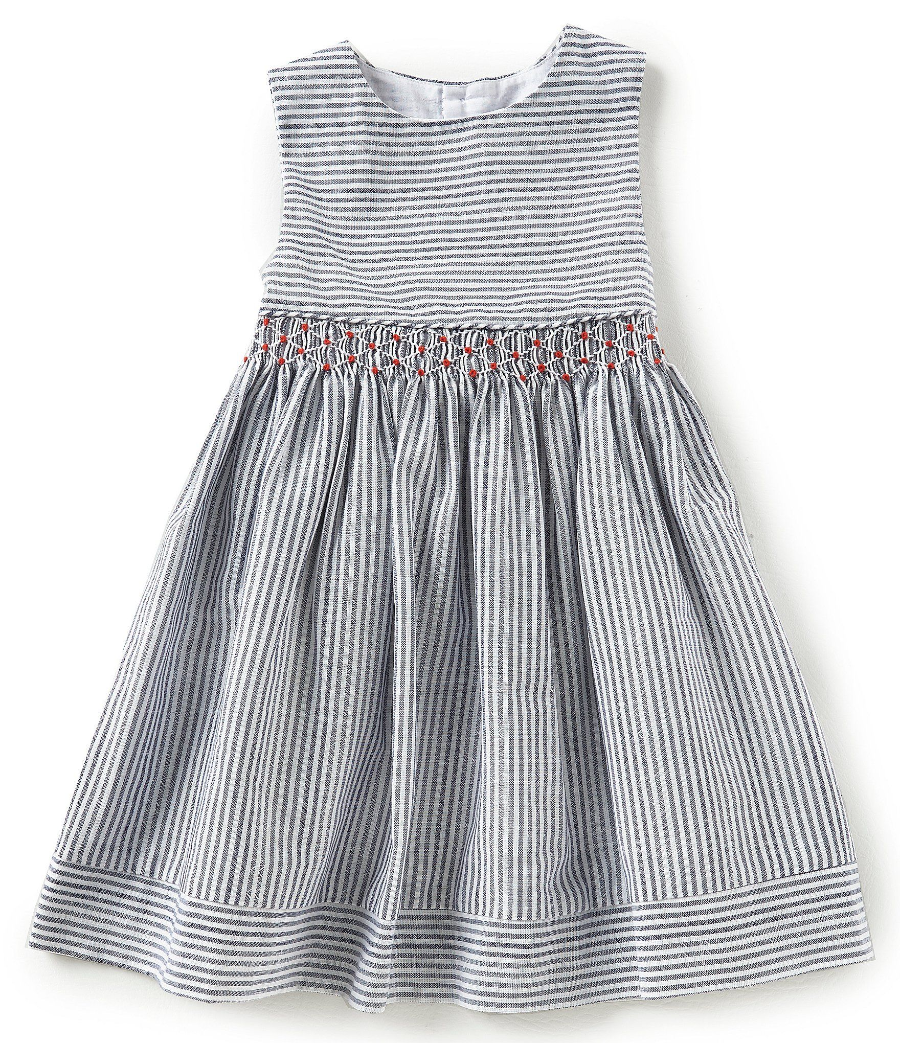 2e6e5eecb1f Shop for Edgehill Collection Little Girls 2T-6X Stripe Floral Smocked Dress  at Dillards.com. Visit Dillards.com to find clothing