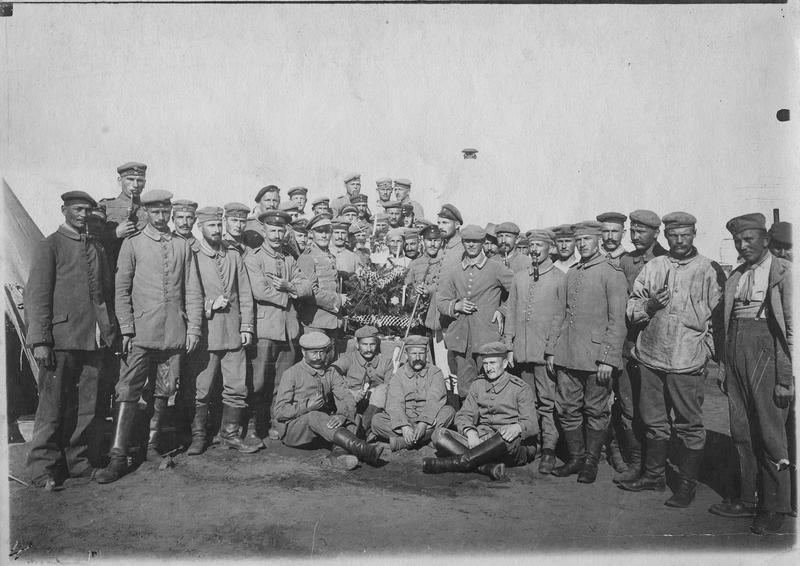 Rabat  Camp de prisonniers   Camp de prisonniers de guerre, Fêtes de Noël    1916