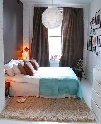 Un dormitorio pequeño | Pinterest | Dormitorios pequeños, Decoracion ...