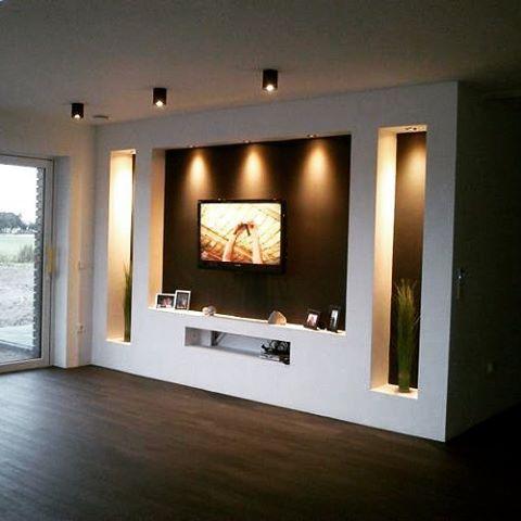 Home Style | déco tv | Salon télé, Decor salon maison et ...