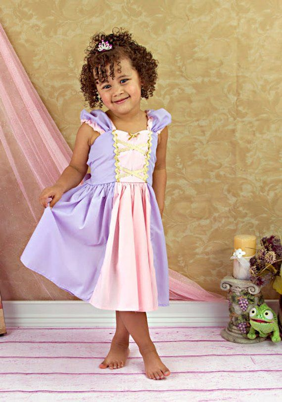 2d43980b9cee RAPUNZEL costume, Rapunzel dress, princess dress, toddlers princess dress,  girls birthday party outf