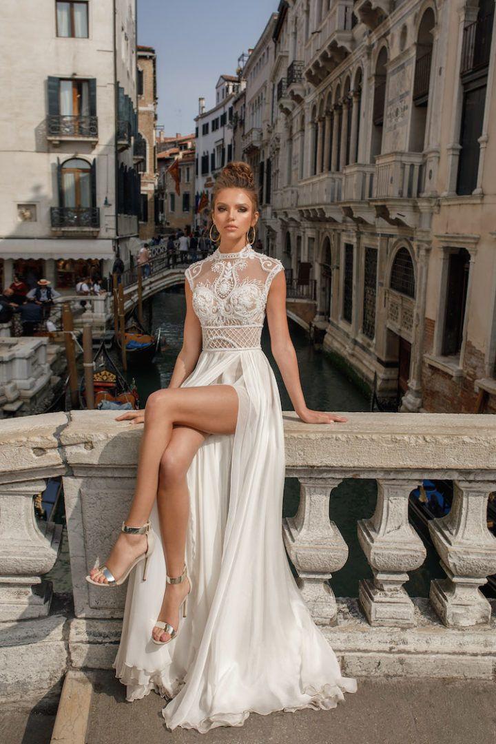 Photo of Show-Stopping Spring 2018 Julie Vino Wedding Dresses – MODwedding