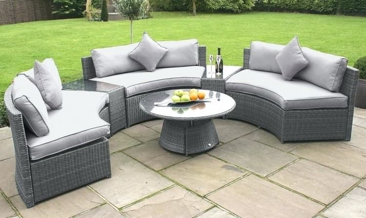 Grey Rattan Outdoor Furniture Large Size Of Patio Patio Furniture