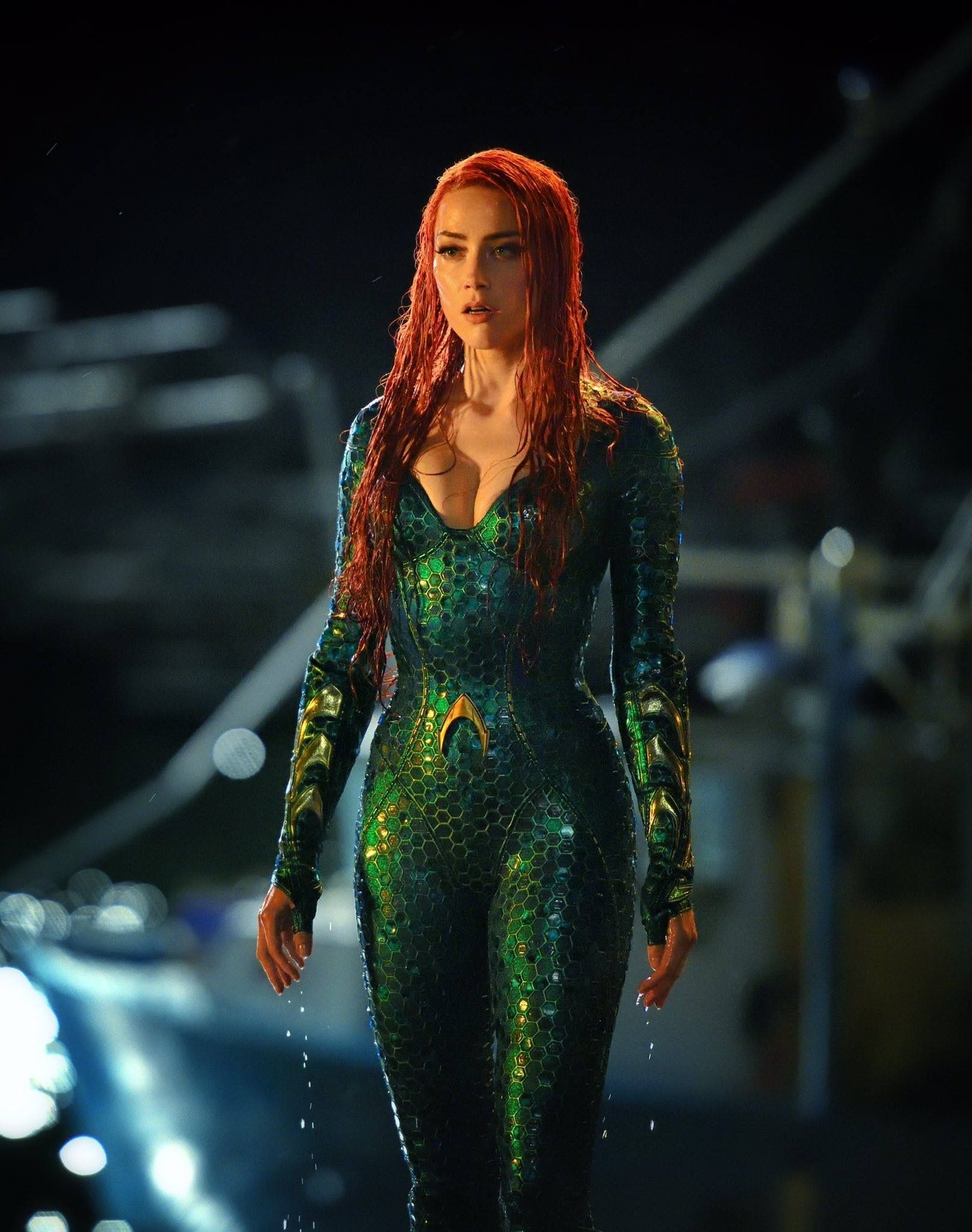 Justice League Mera Aquaman Amber Heard New Aquaman