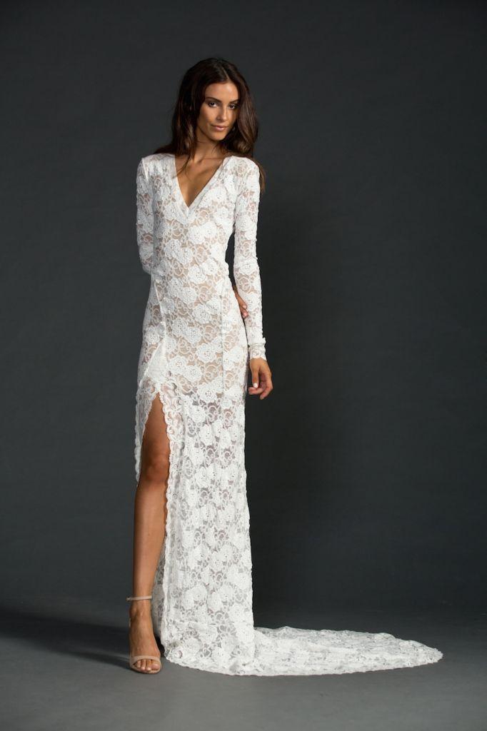Vegas Style Wedding Dresses For Fall