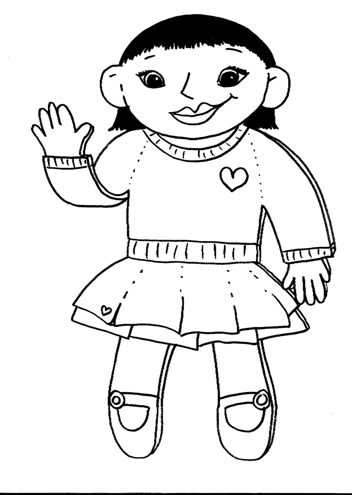 flat stanley coloring page # 71