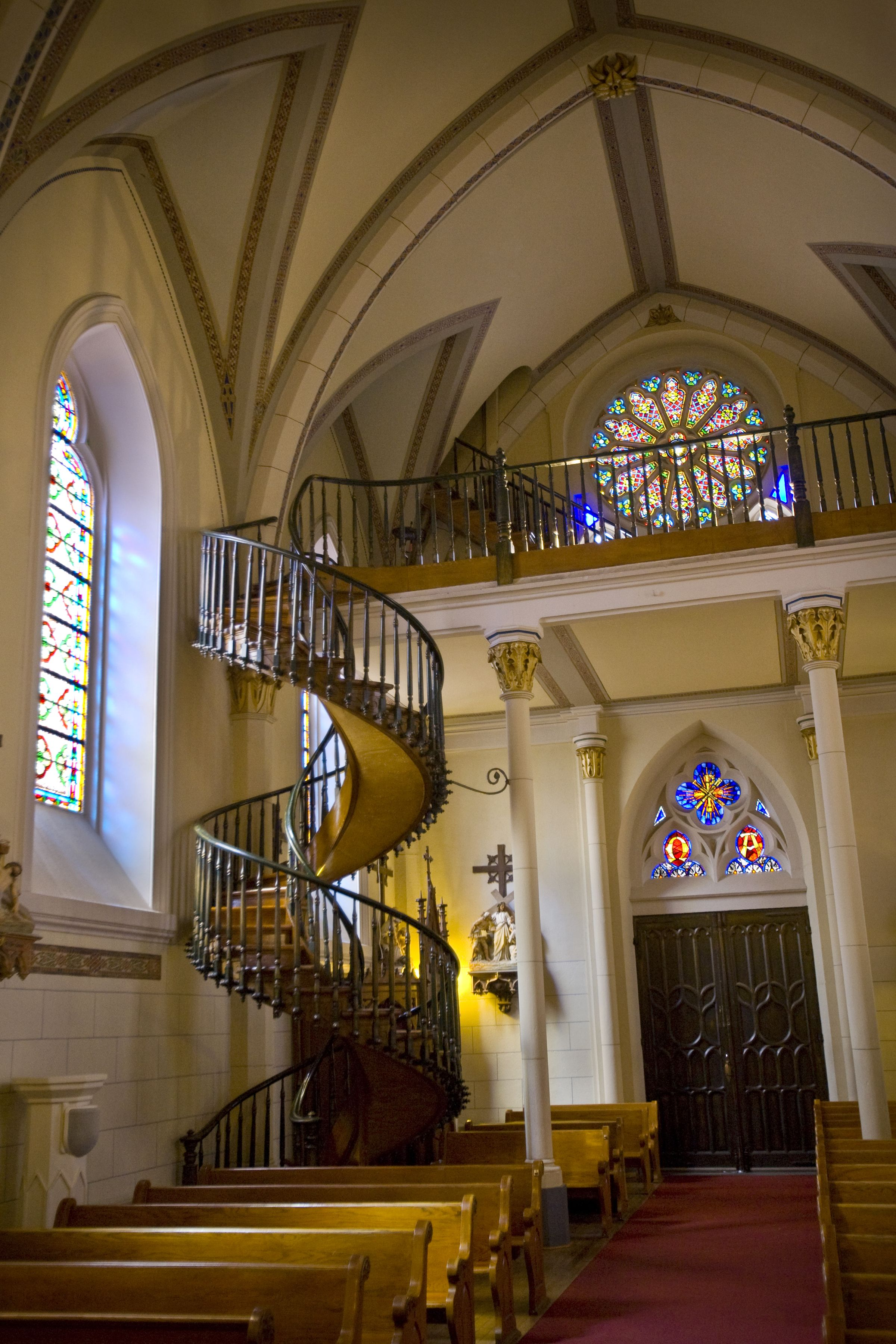 Best World S Coolest Staircases Loretto Chapel Spiral 400 x 300