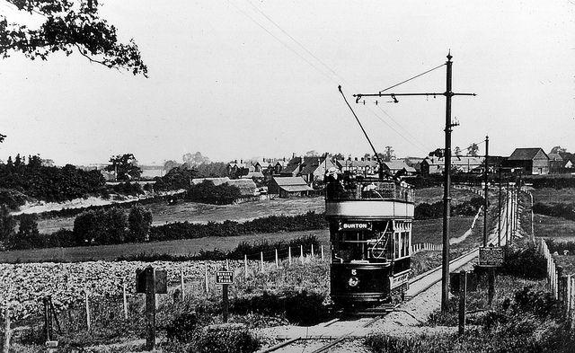 Derbs Burton X Ashby Tram Stanhope Bretby Cutting Near - Cool cars bretby