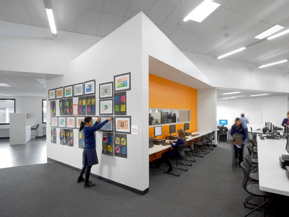 Schools For Interior Design Dandenong High School Interior 1 Architecture  Design Residential 1000x753