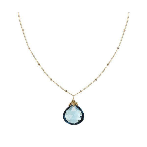 273667f8060d London Blue Topaz Single Stone Necklace