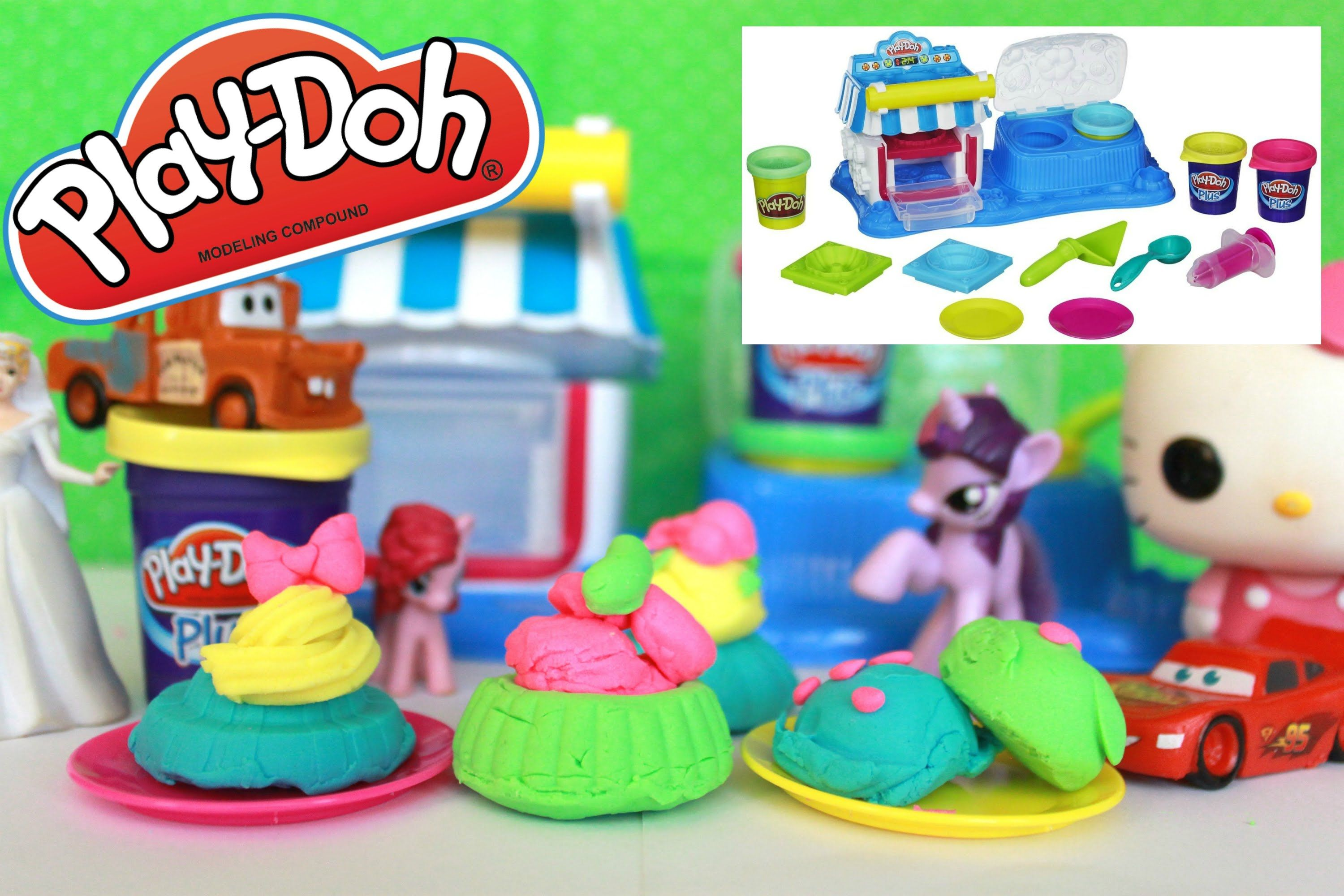 Play-Doh Sweet Shoppe Double Desserts Playset by Playdoh