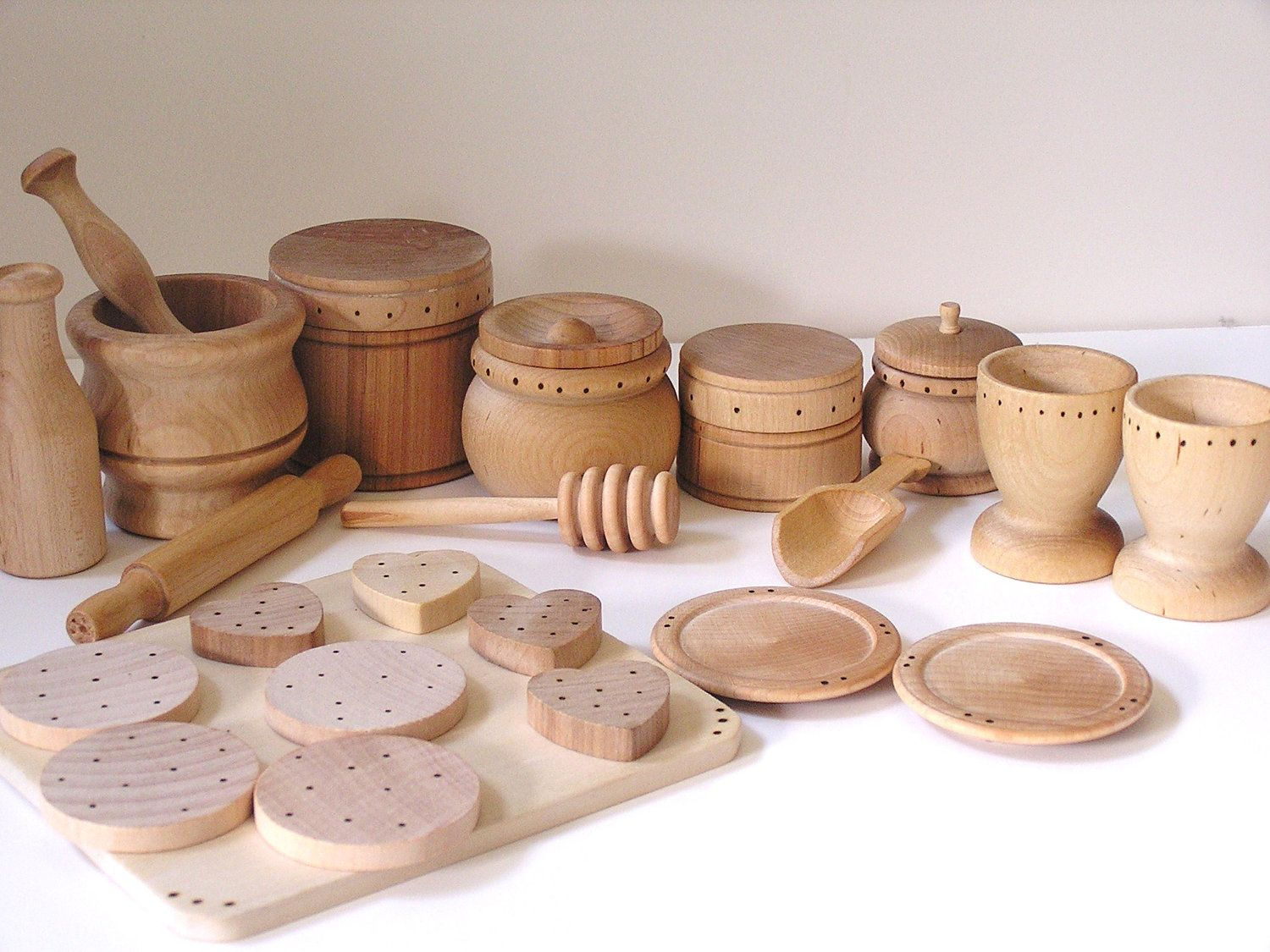 The Ultimate Kitchen Set Natural Wood Toy Set Waldorf Inspired