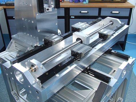 cnc vertical mill build log pics designs cnc cnc milling rh pinterest com